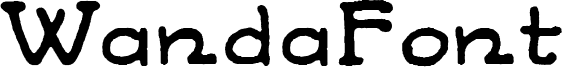 WandaFont Font