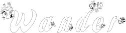 Wander Font