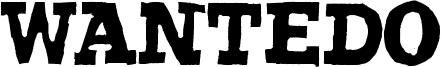Wantedo Font