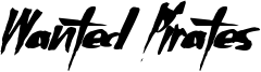 Wanted Pirates Font
