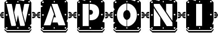 Waponi Font