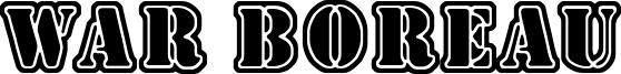 War Boreau Font
