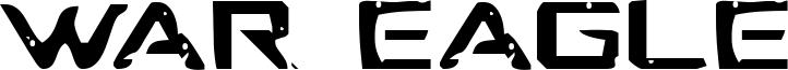 War Eagle Font