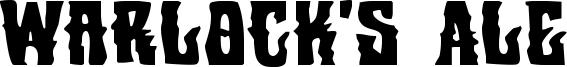 Warlock's Ale Font