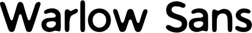 Warlow Sans Font