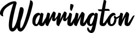 Warrington Font