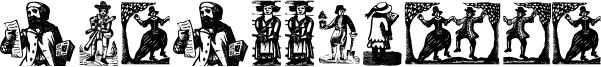Was Woodcuts Font