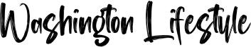 Washington Lifestyle Font