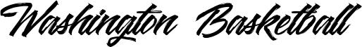 Washington Basketball Font