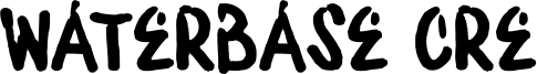 Waterbase Cre Font
