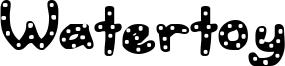 Watertoy Font