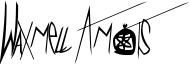 Waxmell Amots Font