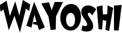 Wayoshi Font