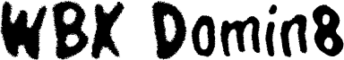 WBX Domin8 Font