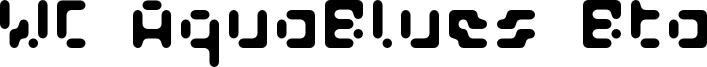 WC_AquaBlues_Bta.otf