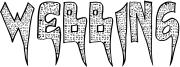 Webbing Font