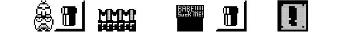 Weird Mario Bros Font
