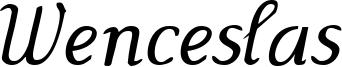 Wenceslas-Oblique.ttf
