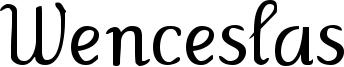 Wenceslas Font