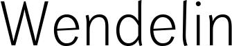 Wendelin Font