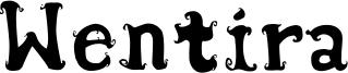 Wentira Font