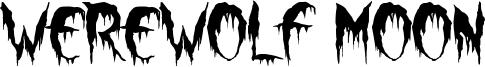Werewolf Moon Font