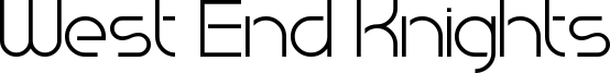 West End Knights Font