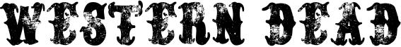 Western Dead Font