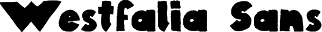 Westfalia Sans Font