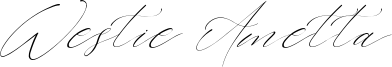 Westie Ametta Font