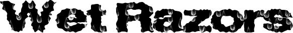 Wet Razors Font