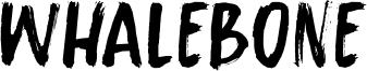 Whalebone Font