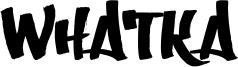 Whatka Font