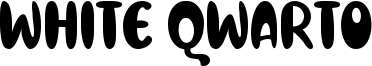 White Qwarto Font