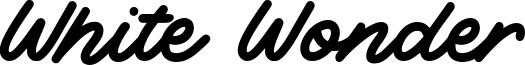 White Wonder Font
