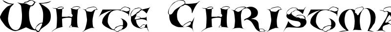 White Christmas Font