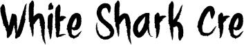 White Shark Cre Font