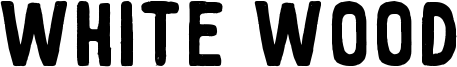 White Wood Font