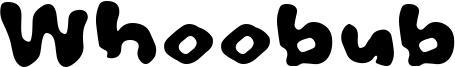 Whoobub Font
