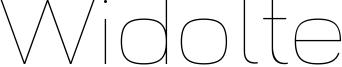Widolte Font