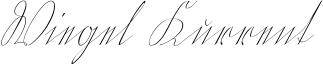 Wiegel Kurrent Font