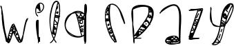Wild Crazy Font