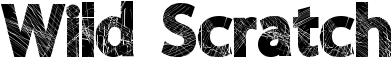 Wild Scratch Font