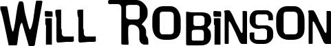 Will Robinson Font