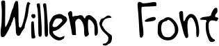 Willems Font Font