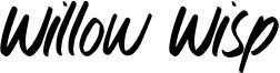 Willow Wisp Font