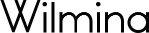 Wilmina Font
