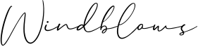 Windblows Font