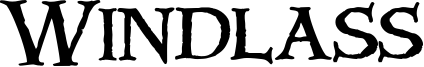 Windlass Font