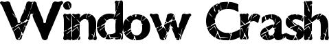Window Crash Font